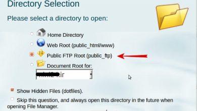 تغییرات دسترسی فایل