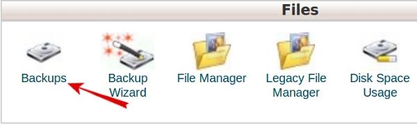 Download backups
