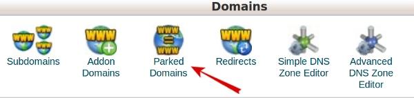 ParkDomain مدیریت ایجاد و حذف