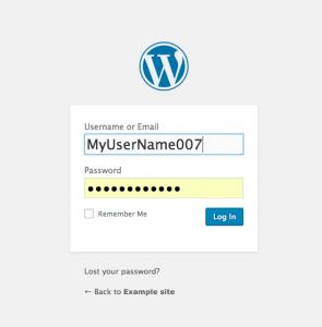 انتخاب رمز پیچیده برای ورود