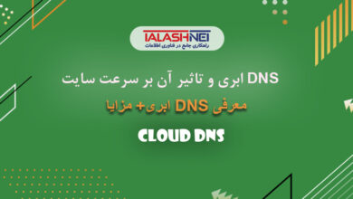 افزایش سرعت سایت با dns ابری